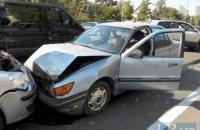 ДТП в Киеве: Mitsubishi, выехав на встречку, травмировал троих детей