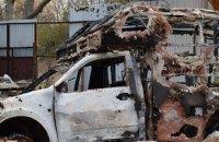 Боевики обстреляли военных медиков из артиллерии близ Песков