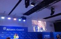 """Савченко отримала від Атлантичної Ради нагороду """"За свободу"""""""