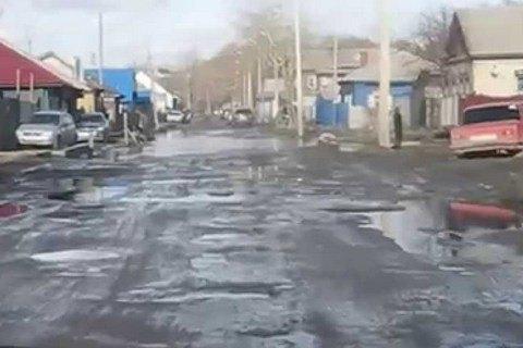 """Жители двух сел на Ровенщине перекрыли трассу """"Киев - Ковель - Ягодин"""""""