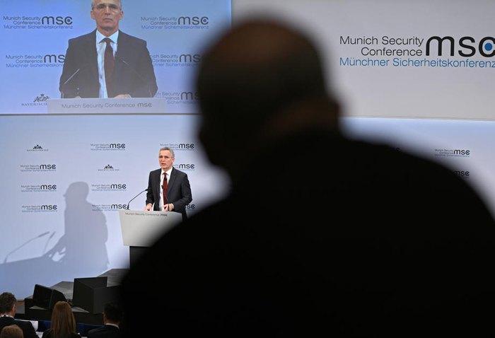 Генеральный секретарь НАТО Йенса Столтенберга.