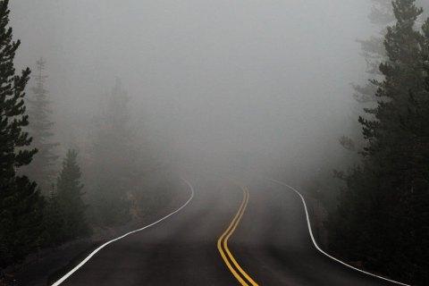 """В Украине сегодня туман, """"желтый"""" уровень опасности"""