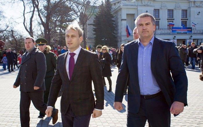 Андрей Филонов и Сергей Аксенов