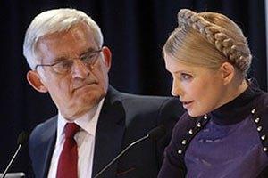 Бузек: дело Тимошенко испортило отношения Украины и ЕС