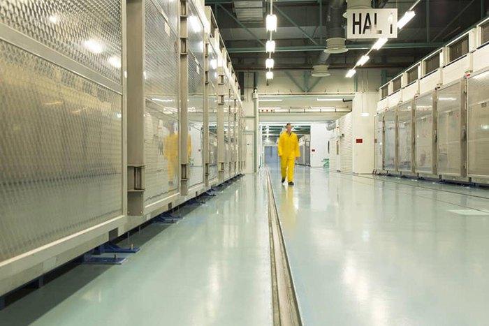 Помещения ядерного завода Фордо