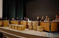 "Донецьк першим здав протоколи з ""мокрими"" печатками"