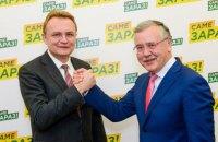 Гриценко бачить Садового прем'єром у разі перемоги на виборах президента