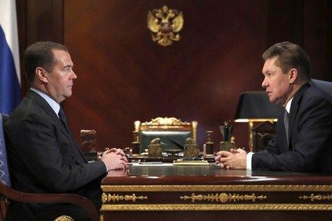 """""""Газпром"""" вважає за необхідне врегулювати всі судові позови з Україною до укладення нового контракту на транзит - Міллер"""