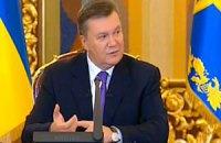 Янукович пообещал навести общественный порядок