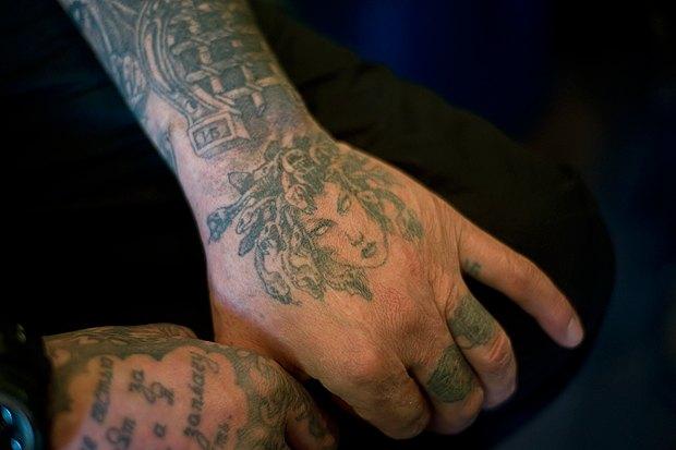 Значение воровских и уголовных татуировок
