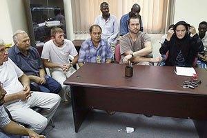 В Ливии суд над украинцами вновь перенесли