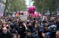На улицы Франции вышли противники трудовой реформы