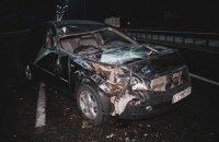На Бориспільському шосе в Києві через ожеледицю зіткнулися 20 автомобілів