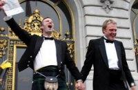 В Дании священников обязали венчать гомосексуалистов