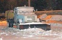 Черновецкий решил убирать снег