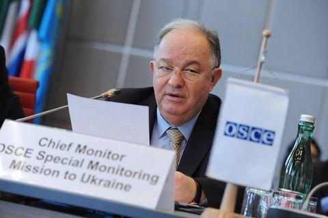 Керівник місії ОБСЄ заявив про погіршення ситуації на сході України