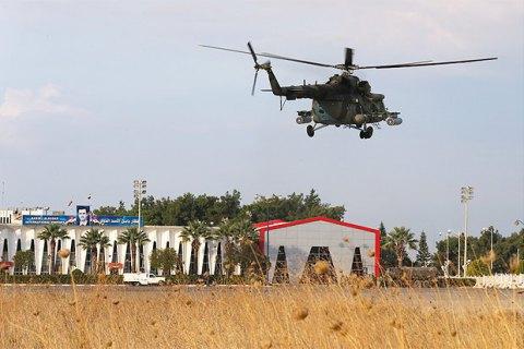 Збитий у Сирії російський вертоліт скинув ємності з отруйним газом, - рятувальники