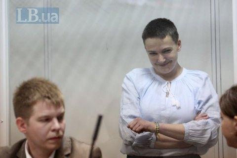 Суд не смог принять решение по мере пресечения Савченко