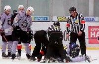 В одном матче Украинской хоккейной лиги зрители увидели сразу две яркие драки