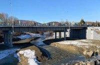 У Косові відновили міст, знищений паводком 2008 року