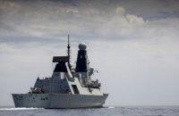"""Російська ФСБ опублікувала відео з командою """"Вогонь!"""" для """"попередження"""" британського есмінця в Чорному морі"""