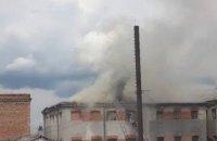 Из-за пожара из Винницкой колонии эвакуировали 100 человек