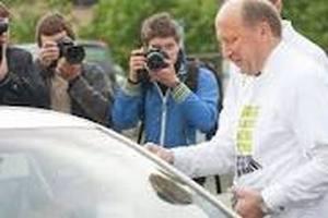 Премьер Литвы принял участие в уличной акции