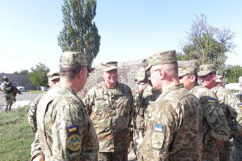 """Делегація командування Сухопутних військ США відвідала сектор """"Маріуполь"""""""