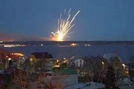 В результате нового взрыва боеприпасов в Ульяновске погибли 8 солдат