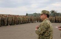 Полторак рассказал бойцам в зоне АТО об увеличении выплат