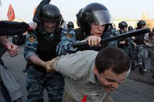 """Полиция озвучила количество задержанных на """"Марше миллионов"""""""