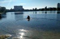"""На київському озері """"Тельбін"""" виявили тіло жінки"""