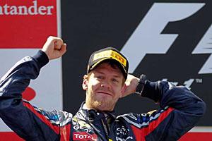 Чемпион мира Формулы-1 Себастьян Феттель выиграл Гран-при Испании