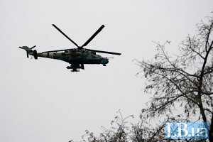 Два російські вертольоти Мі-24 порушили повітряний простір України