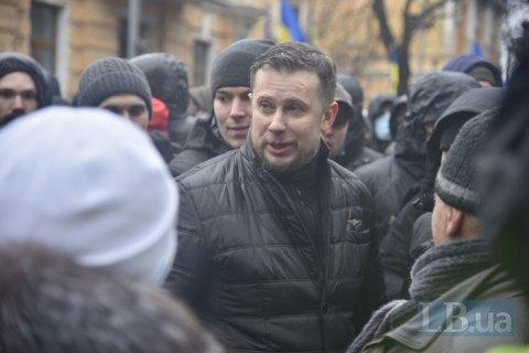 """Білецький: """"Нацкорпус"""" не влаштовуватиме акцій на """"Олімпійському"""" під час дебатів"""