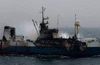 """В Украину вернулись четверо украинских моряков с затонувшего судна """"Иван Голубец"""""""