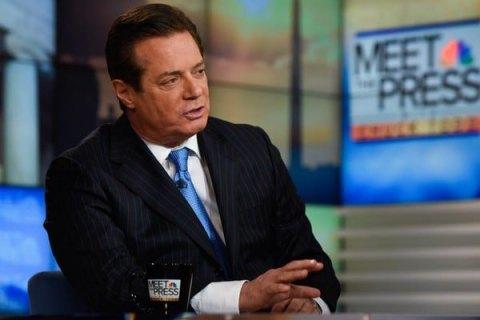 Манафорт признал, что получил $17 млн из«черной бухгалтерии» регионалов,
