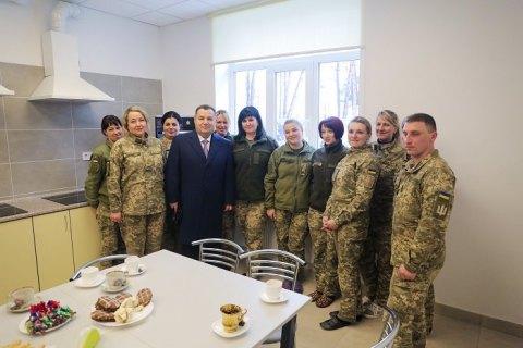 Во Львовской области открыли новые общежития для военных летчиков