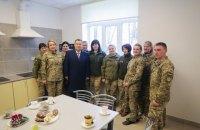 У Львівській області відкрили нові гуртожитки для військових льотчиків