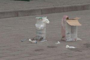 В Одесі виявили вибуховий пристрій біля ПриватБанку