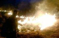 У Житомирській області літнє подружжя загинуло через спалювання сухої трави