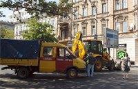 В центре Одессы прорвало газопровод