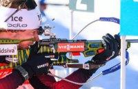 У чоловічому пасьюті на етапі Кубка світу з біатлону весь п'єдестал знову був норвезьким