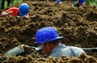 В Венгрии прошли состязания по копанию могил на скорость