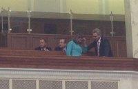 Нуланд, посли ЄС і США прийшли в Раду спостерігати за депутатами