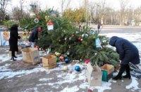 У Переяслав-Хмельницькому впала новорічна ялинка