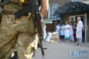 Бойовики ЛНР обстріляли станцію швидкої допомоги поблизу Попасної