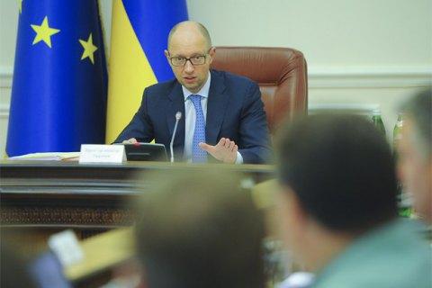 Яценюк назвал лживыми обвинения Саакашвили