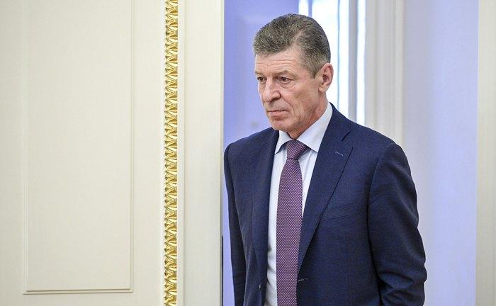 Дмитрий Козак перед началом совещания правительства
