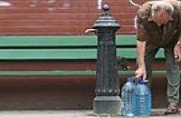 В Киеве отключают бюветы